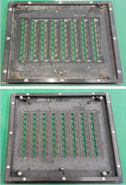 Le joint de pulvérisation de palette de soudure de vague usine le gabarit de transporteur complètement automatique