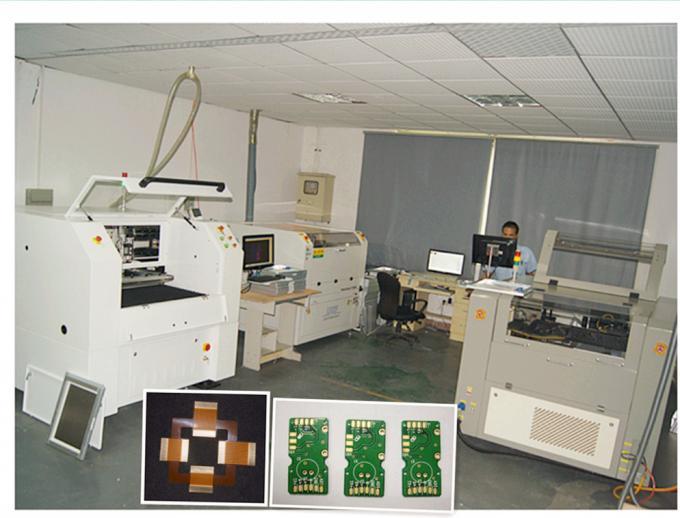 Machine de positionnement automatique de carte PCB Depaneling de laser pour le processus de fabrication de carte PCB