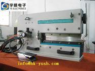 Chine La plus basse machine de carte PCB Depaneling d'effort de coupe pour le panneau épais d'alun usine