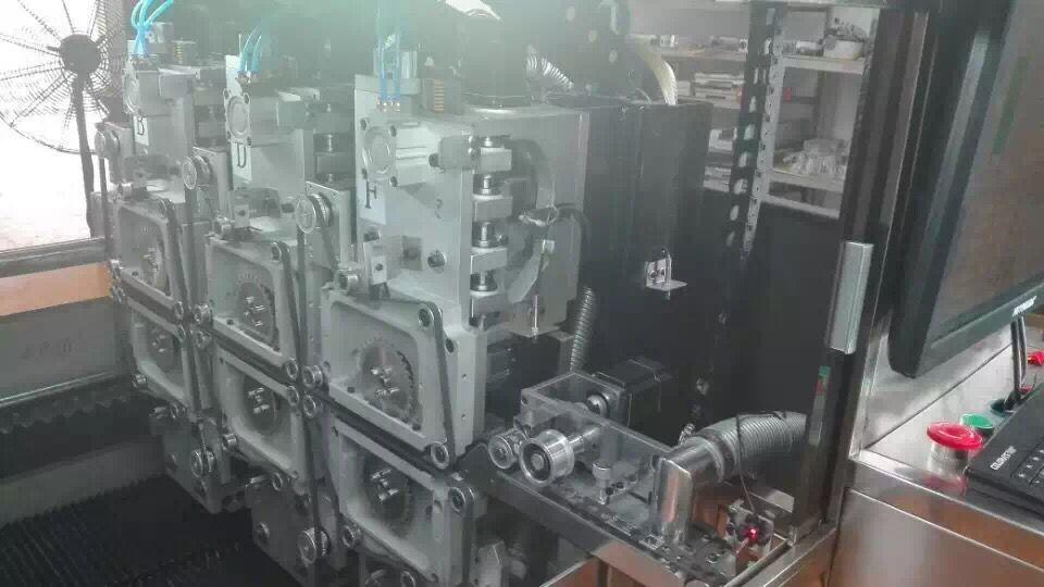 Computer CNC PCB V Cut Machine , 40M / min Circuit Board Cutter