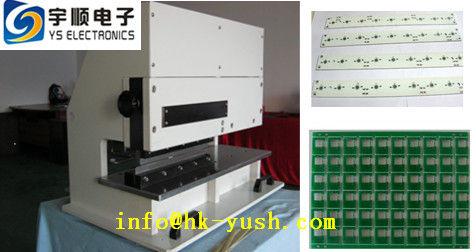 Pneumatic PCB Cutting Machine / Pcb Cutter Machine With High Speed Steel Blades