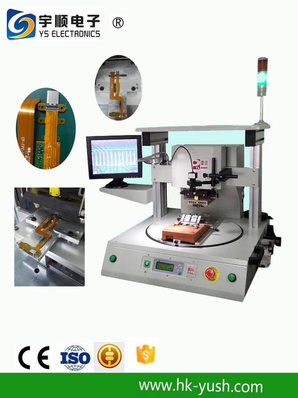 Pneumatic Pulse Heat Hot Bar Soldering Equipment For FFC / FCB