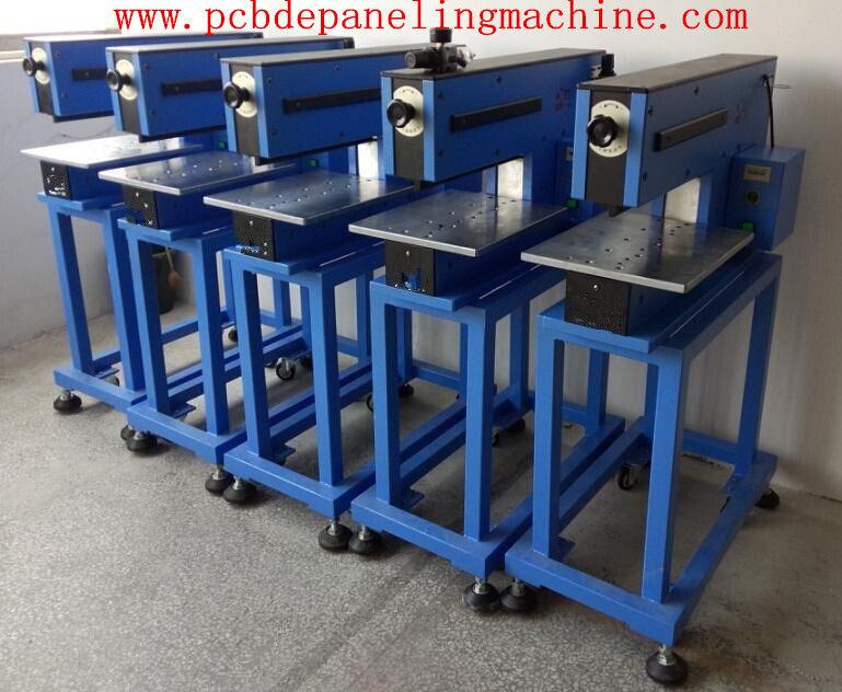 Guillotine Type PCB Scoring Machine Gas Electric Light Weight