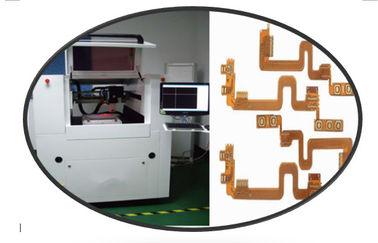 Coupeur UV de laser de commande numérique par ordinateur de précision pour les cartes électronique flexibles, découpeuse à grande vitesse de laser en métal de commande numérique par ordinateur