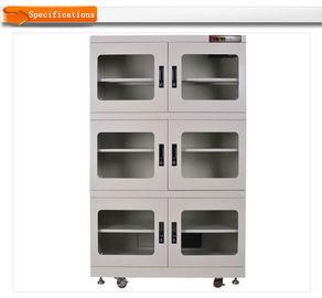 Récipients d'entreposage secs réglables de boîte de contrôle d'humidité pour le stockage de composant électronique
