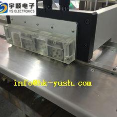 Machine de carte PCB Depaneling d'aluminium de plate-forme de la norme 2.4M avec du CE de 4 ensembles de lame