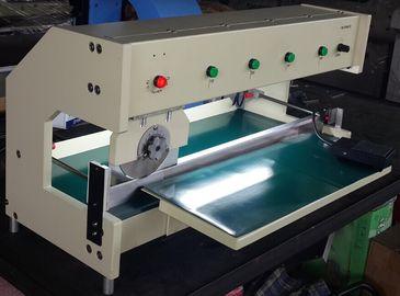 Largeur de cannelure V longueur de coupe maximum de la découpeuse 630mm de carte PCB de 0,8 millimètres Moterized