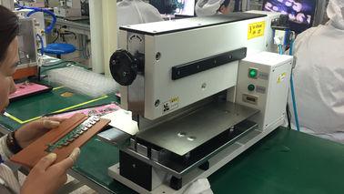 Machine d'une manière pneumatique conduite de carte PCB Depaneling pour couper la carte PCB coupée par V Depanelizer de panneau de carte PCB