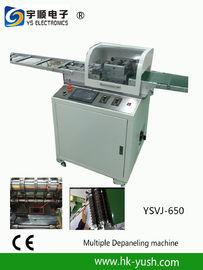 V à lames multiples - coupez le séparateur de carte PCB avec le contrôle d'écran d'ordinateur