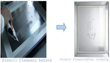 Basse machine de nettoyage de pochoir de décharge, équipement stable de nettoyage de carte PCB